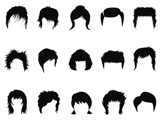 men and women hair styling collection