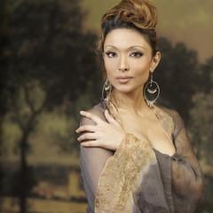 Portrait of elegant Hispanic woman
