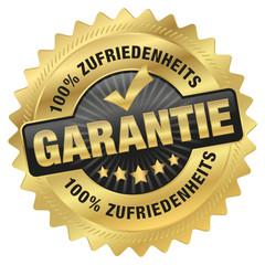 100% Zufriedenheits-Garantie