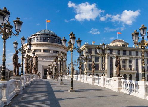 The Art Bridge, Skopje, Macedonia