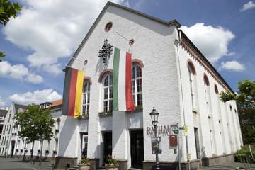 Rathaus in Xanten, Deutschland