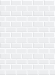 seamless a white brick wall with shading in the corners