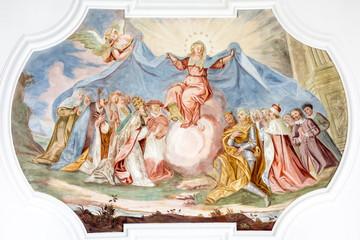 fresco Maria