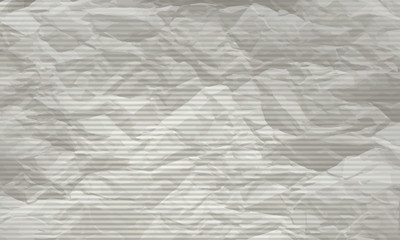 striped vector backdrop with texture crumpled paper