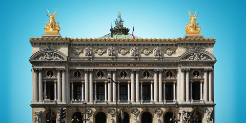 Fototapete - Building of the Grand-Opera in Paris, France