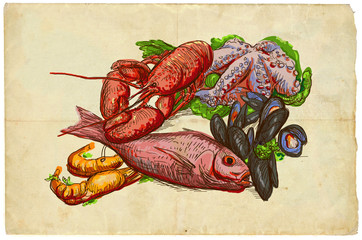 From the series food: Seafood