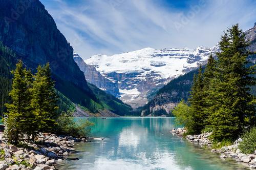 Victoria Glacier, Lake Louise, Banff National Park, Alberta, Canada  № 193218 загрузить