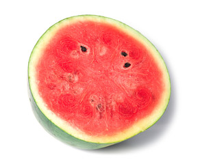 watermelon islice solated on white background