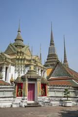 На территории храмового комплекса Ват По. Бангкок