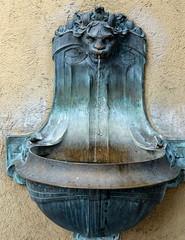 vieille fontaine zurichoise