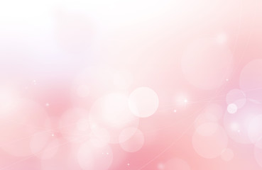 Pink sparkling and shiny abstract background