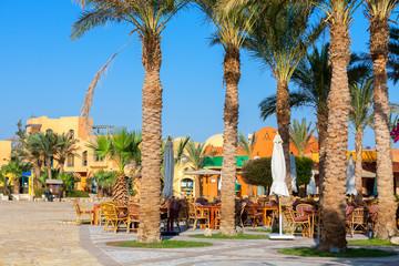 City Square. El Gouna, Egypt