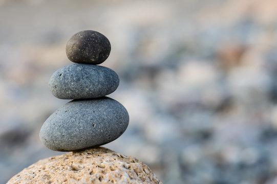 Stones balance background