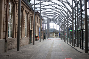 Railway station in Luxembourg