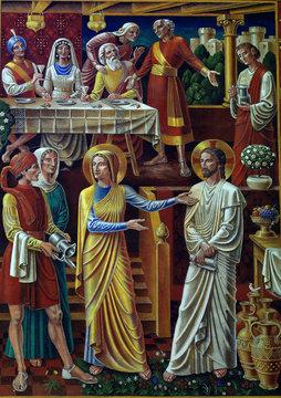 Wedding at Cana (mural)