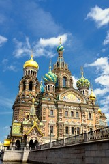 Russia Orthodox Church Spas na Krovi, St. Petersburg