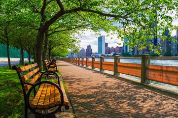 Summer View East River Fototapete