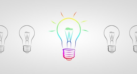 Light bulb business idea