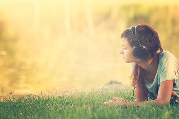 Listen to the music in the park
