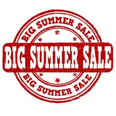Big summer sale stamp