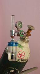 Oxygen tank.