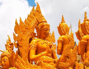 Candle Festival Ubon Thailand
