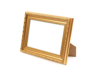 Picture frame on the white background