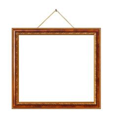 Retro frame at string