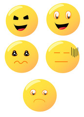 Multiple emoticons