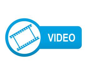 Etiqueta tipo app azul alargada VIDEO