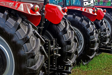 Detail of agricultural equipment 9