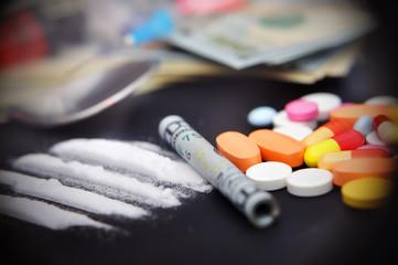 lines of cocaine