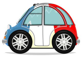 Funny small car