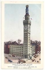 Baltimore, Bromo-Seltzer Tower 1911 (hist. Postkarte)