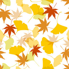 seamless pattern autumn
