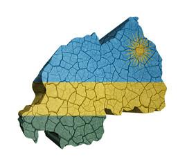Map of Rwanda
