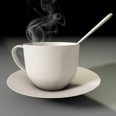 cup off coffee