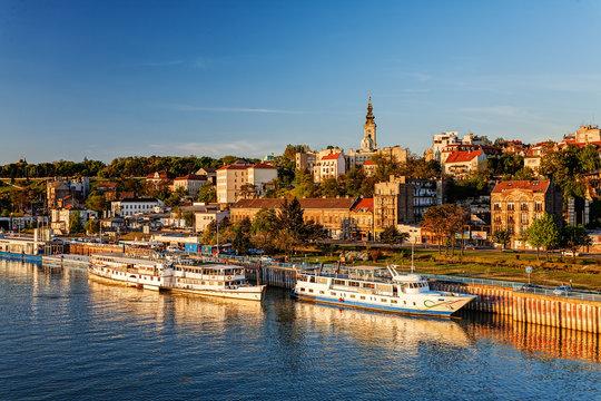 Belgrade from river Sava