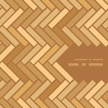 Abstract wooden floor panels frame corner pattern background
