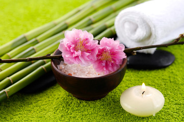 Wall Mural - Spa treatment and aromatherapy