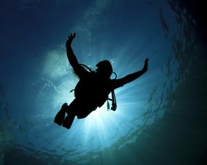 Scuba diving fun