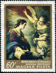 Annunciation, by Bernardo Strozzi