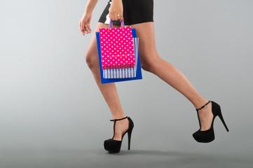 Running while shopping