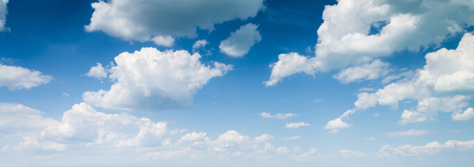 Poster de jardin Ciel blue sky background with clouds