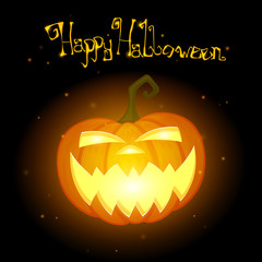 Vector Illustration of a Halloween Design