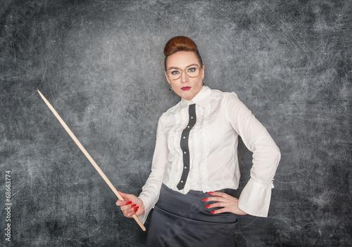 strict teacher