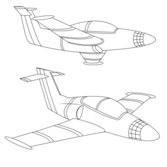Aircraft outline