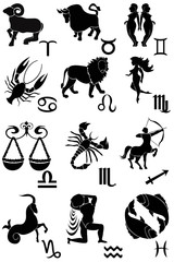 Brushes - signs of the zodiac