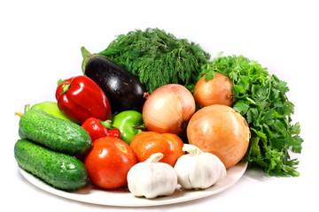 Poster Légumes frais Fresh vegetables