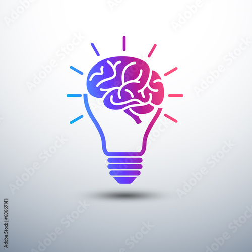 Creative in Idea concept with light bulb and plug icon ,vecto ... on hair dryer and plug, money and plug, screw and plug, radio and plug, wire and plug, light switch and plug,